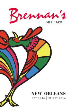 Brennan's Gift Card