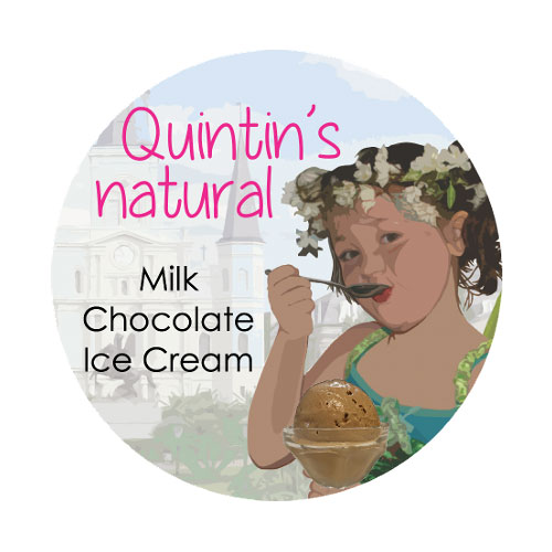Quintin's Ice Cream Logo