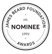 james Beard Foundation Award Finalist