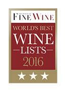 World's Best Wines List 2016