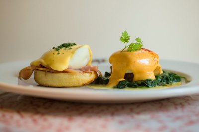 Eggs Benedict and Eggs Cardinal
