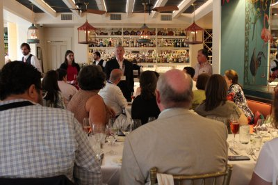 Ralph Brennan addresses attendees