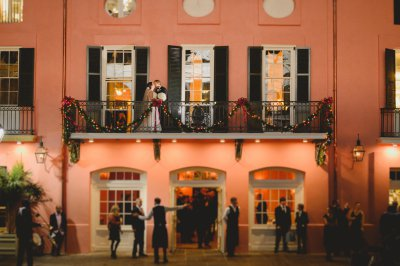 A magical Christmas wedding at Brennan's