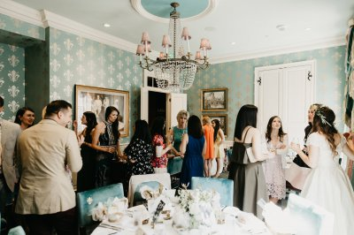 Bridal Shower in the Queen's Room