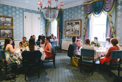Bridal luncheon in the Queen's Room