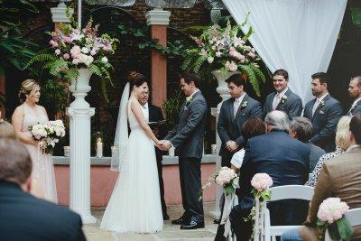 Courtyard nuptials