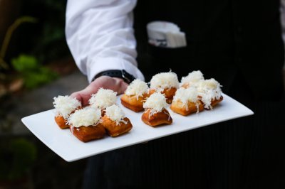 Savory Beignet Canapes