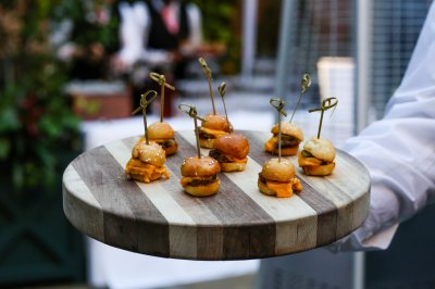 Mini Cheeseburger Canapes