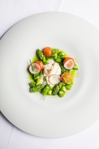 Burrata & Asparagus Salad
