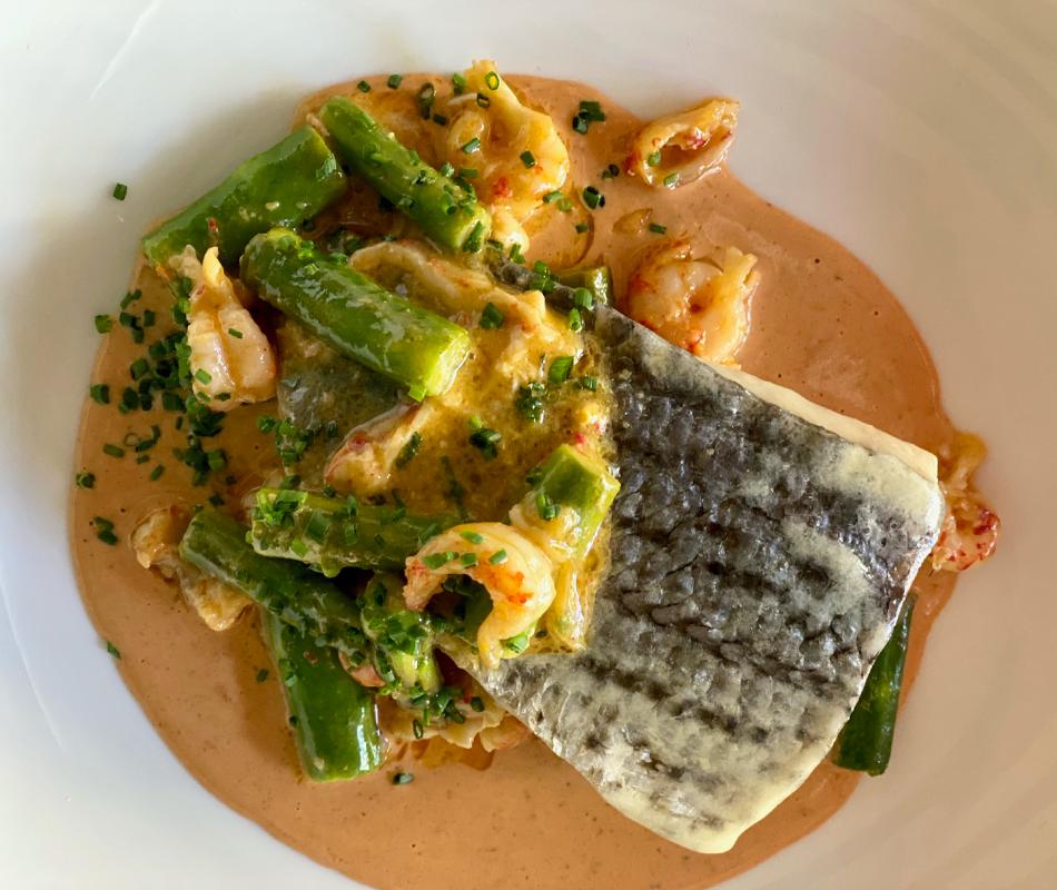 Promotion for Crawfish Dinner Menu
