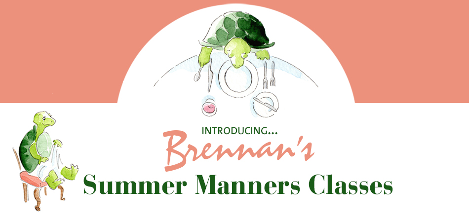 Promotion for Summer Manners Class